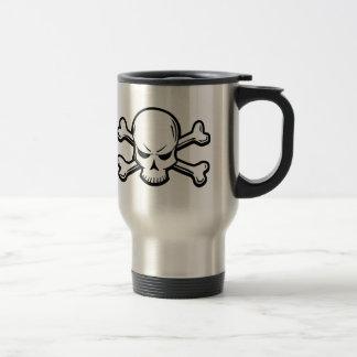 Goth Skull Travel Mug