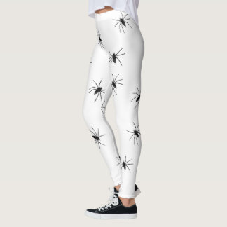 Goth Spider Photo Leggings