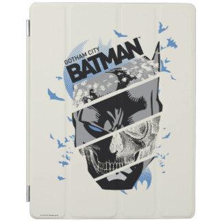 Gotham City Batman Skull Collage iPad Cover