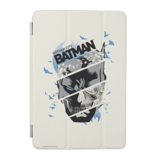 Gotham City Batman Skull Collage iPad Mini Cover