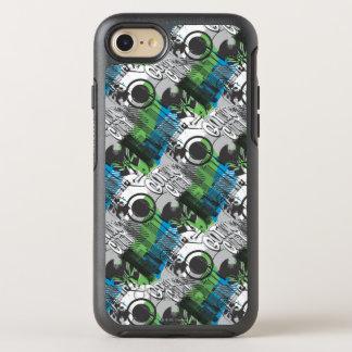 Gotham City Pattern OtterBox Symmetry iPhone 8/7 Case