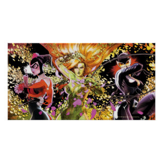 Gotham City Sirens Cv5-6-7 Posters