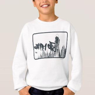 Gotham City Sticker Sweatshirt