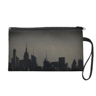 Gotham NYC Skyline Wristlet