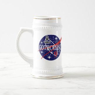 GothCruise 9 Logo Beer Stein