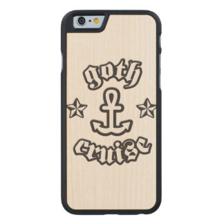 GothCruise Logo Carved® Wood Case for Phones Carved® Maple iPhone 6 Case