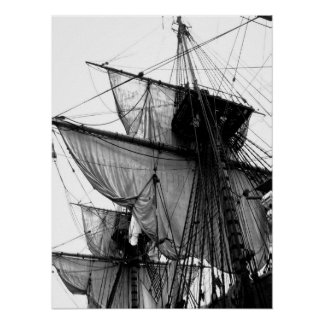 Gotheborg Series - Sail Print