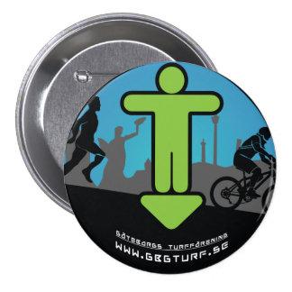 Gothenburg's Turf association - meagre 7.5 Cm Round Badge