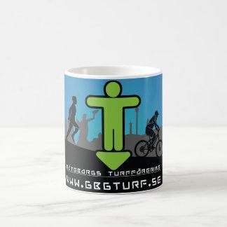 Gothenburg's Turf association - white mug