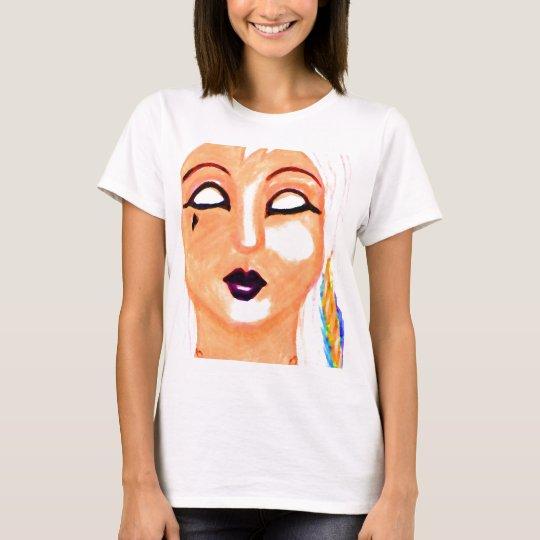 Gothia - Goth Mask Design - Cricketdiane Stuff T-Shirt