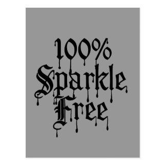 Gothic 100% Sparkle Free Postcard