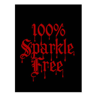 Gothic 100% Sparkle Free Post Cards