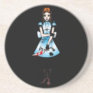 Gothic Alice Beverage Coasters