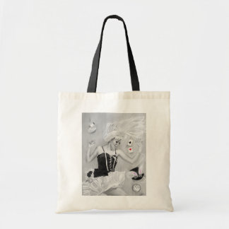 Gothic Alice in wonderland falling Bag
