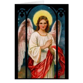 Gothic Angel Christmas Card