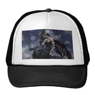 Gothic angel hat