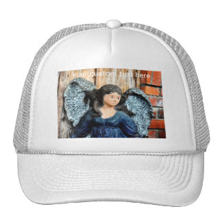 Gothic Angel Statue Cap