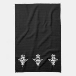 Gothic Ankh Tea Towel