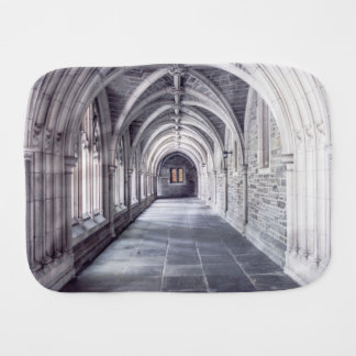 Gothic Arches Baby Burp Cloth