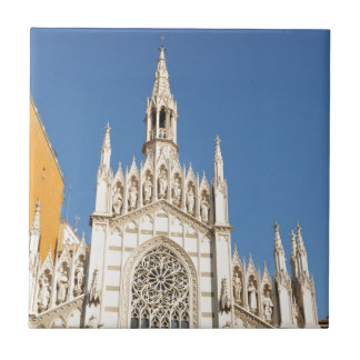 Gothic architecture in Rome, Italy Tile