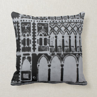 Gothic Architecture Venice Italy Cushion