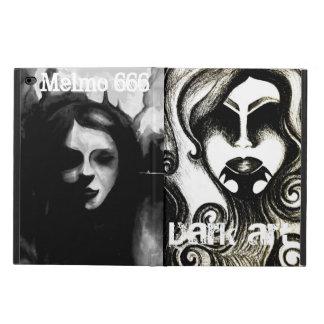 Gothic art iPad case
