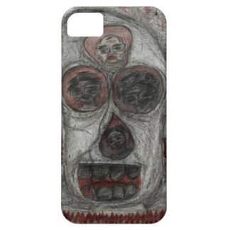 Gothic art skull/totem iPhone 5 covers