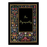 Gothic Art Sympathy Card Customisable