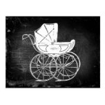 Gothic Baby Carriage Postcards
