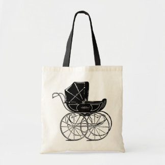 Gothic Baby Carriage Tote Bag