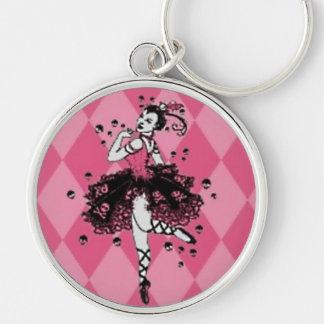 Gothic Ballerina Keychain