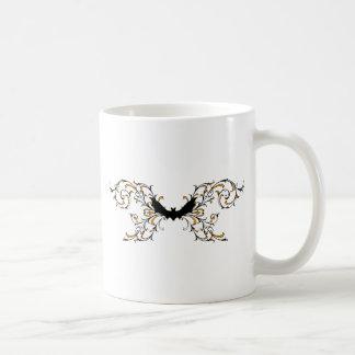 Gothic bat coffee mugs