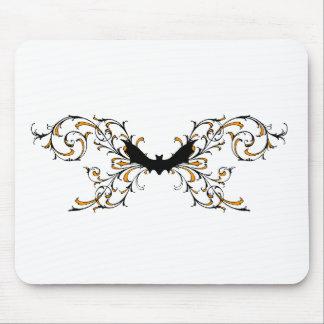 Gothic bat mousepads