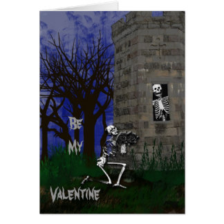 Gothic Be My Valentine Card
