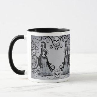 Gothic Belly Dancer Mug