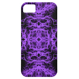 Gothic Black and Purple Design. iPhone 5 Cover