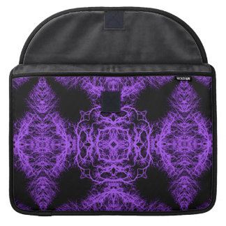 Gothic Black and Purple Design. Sleeve For MacBook Pro