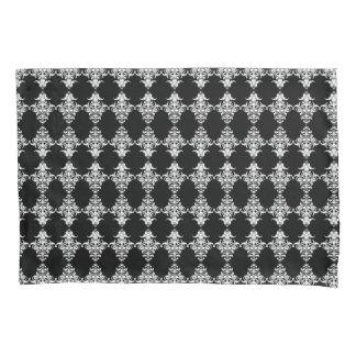Gothic Black and White Damask Pattern Duvet Cover