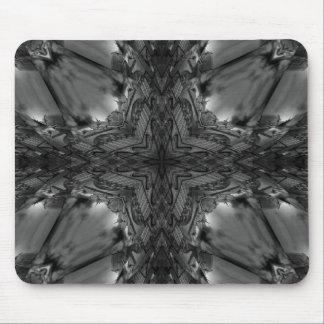 Gothic black lace mouse pad