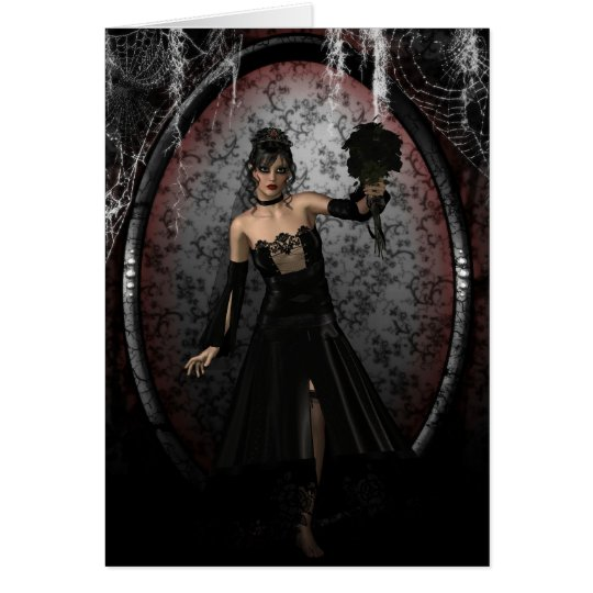 Gothic Bride Card