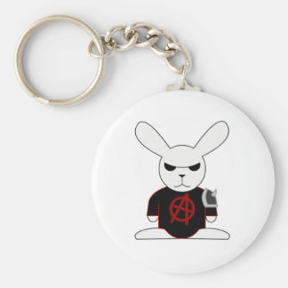 Gothic Bunny Keychain