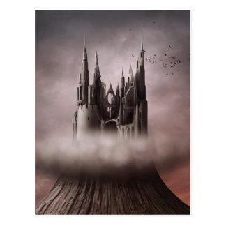 Gothic Castle Ruins Postcard