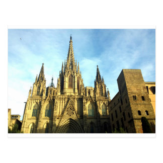 Gothic Cathedral Barcelona, Barri Gotic Postcard