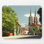 Gothic Cathedral in Wroclaw Mousepad