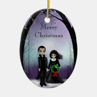 Gothic Christmas Ornament