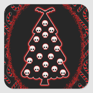 Gothic Christmas Stickers