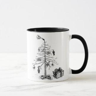 Gothic Christmas Tree Mug
