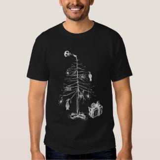 Gothic Christmas Tree T Shirt