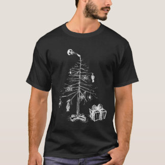 Gothic Christmas Tree T-Shirt