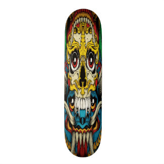 Gothic Collage Skateboard